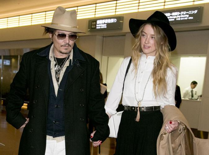Johnny Depp : il s'éloigne déjà d'Amber Heard !