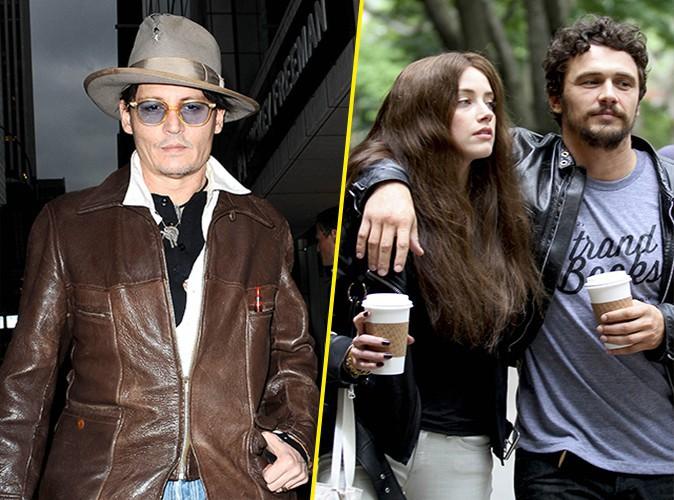 Johnny Depp jaloux de James Franco : son mariage avec Amber Heard est-il en danger ?