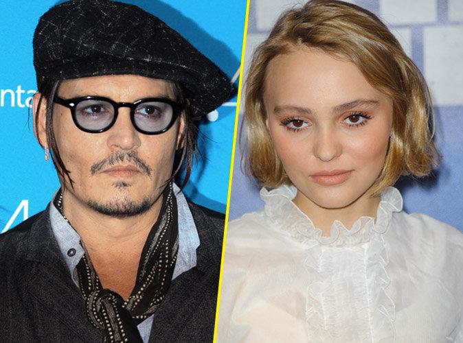 """Johnny Depp : """"Je m'inquiète pour Lily-Rose"""" !"""