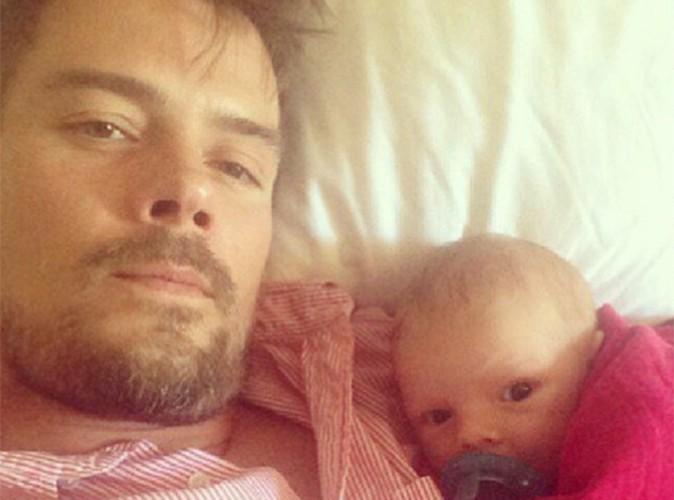 Josh Duhamel : Axl Jack, le fils de Fergie est au top dans les bras de son papounet !