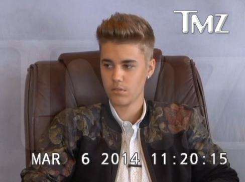 Justin Bieber : arrogant envers les forces de l'ordre, la vidéo de son interrogatoire fait le buzz !