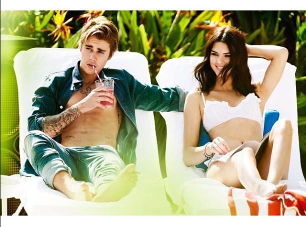 Justin Bieber et Kendall Jenner : parfait petit couple pour Mario Testino !