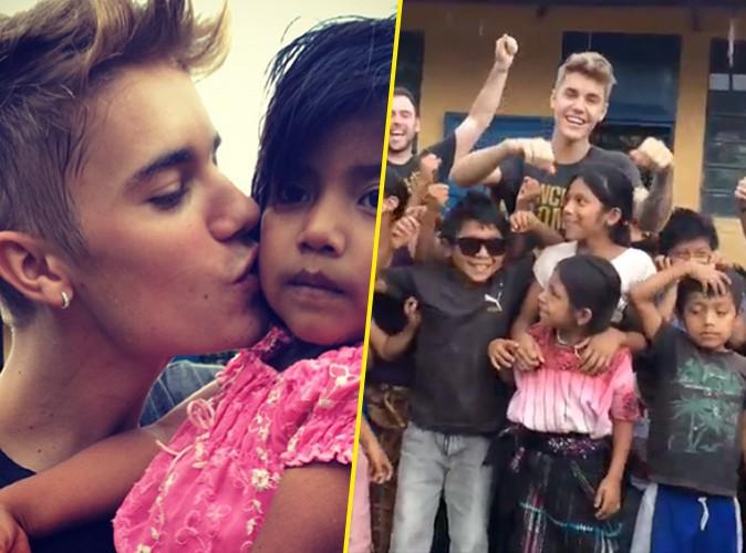 Justin Bieber : il aide à construire une école au Guatemala et nous fait partager son incroyable expérience !