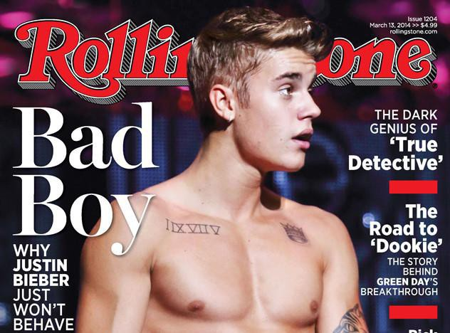 """Justin Bieber : sexy et torse nu en une de Rolling Stone, le """"Bad boy"""" peut dire merci à ses frasques !"""