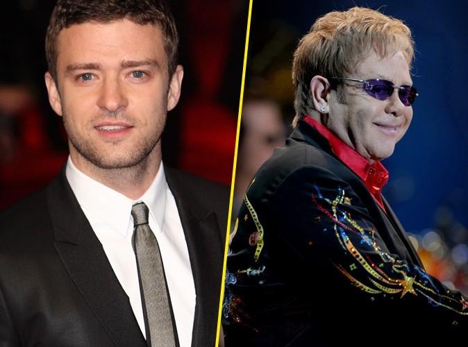 Justin Timberlake : chouchou d'Elton John pour son biopic !