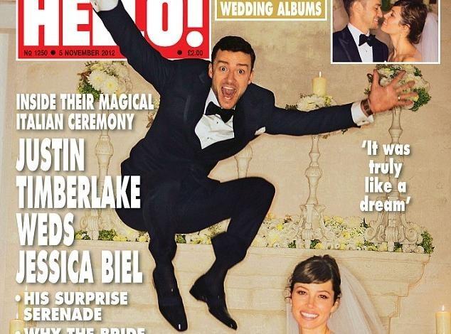 Justin Timberlake et Jessica Biel : encore une nouvelle photo de mariage des plus romantiques...