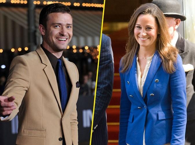 """Justin Timberlake : """"je suis un grand fan de Pippa Middleton !"""""""