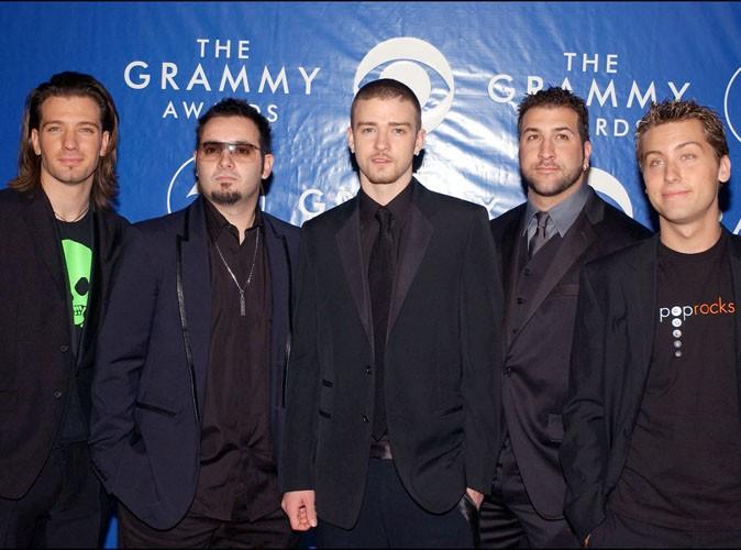 Justin Timberlake : retrouvailles avec les anciens du groupe 'N Sync lors des MTV VMA's 2013 !
