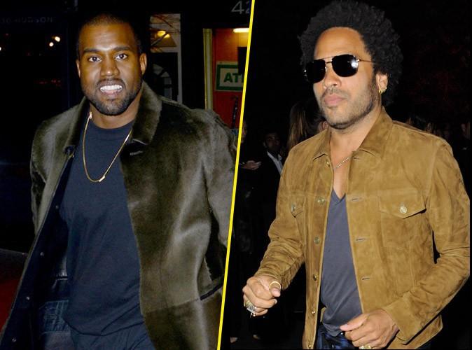"""Kanye West : il se prend pour un """"génie"""" et clashe Lenny Kravitz !"""