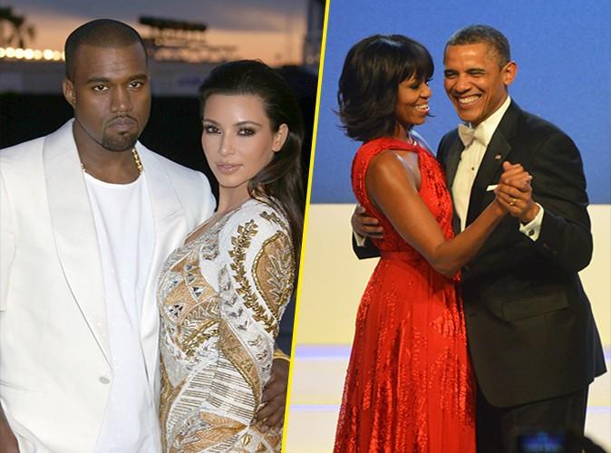 """Kanye West : """"Kim et moi avons plus d'influence que le couple Obama !"""""""