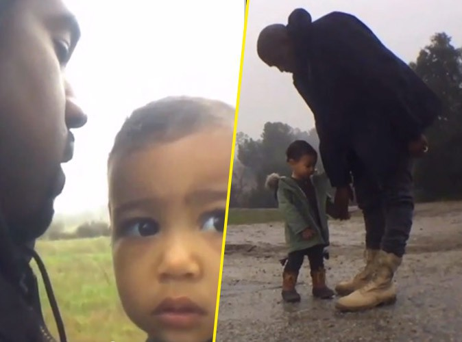 "Kanye West : North, star du clip ""Only One"" !"