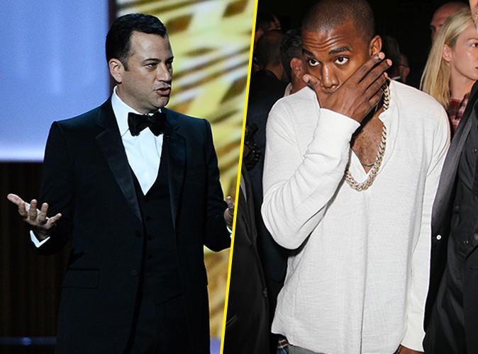Kanye West : parodié par Jimmy Kimmel, il clash violemment l'humoriste sur Twitter !