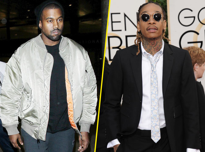 Kanye West pète les plombs et règle ses comptes avec Wiz Khalifa !