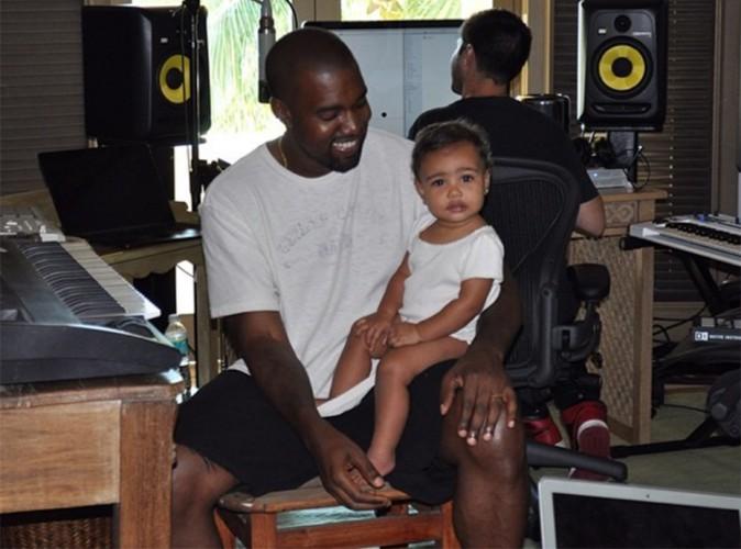 Kanye West : un papa gaga plus souriant que jamais aux côtés de sa North adorée !
