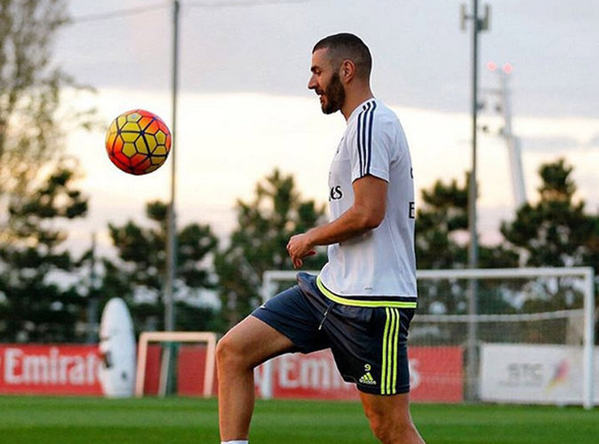 Karim Benzema a déjà repris les entrainements à Madrid