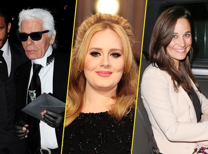 Karl Lagerfeld : il descend Adele et Pippa Middleton…