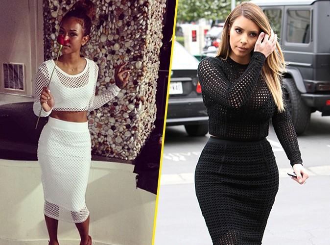 Karrueche Tran : question look, elle copie Kim Kardashian !