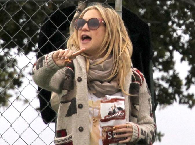 Kate Hudson enceinte,  persuadée d'attendre une fille !
