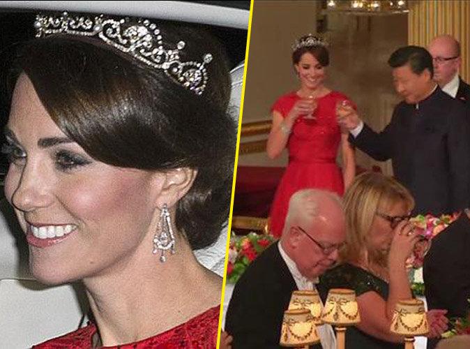 Kate Middleton : duchesse élégante et rayonnante aux côtés d'Elizabeth II !
