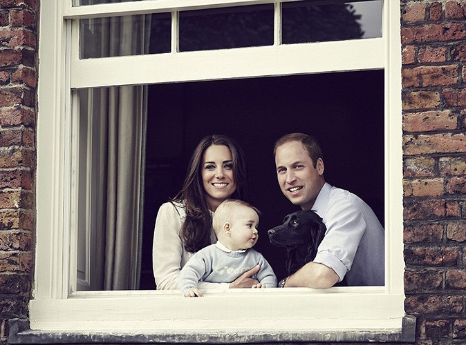 Kate Middleton et Prince William : ils dévoilent une nouvelle photo de George !