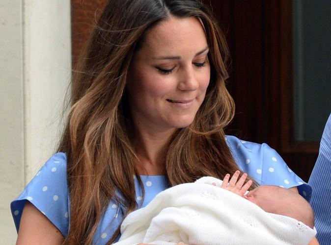 """Kate Middleton : """"heureuse de son accouchement naturel, parfait"""" !"""