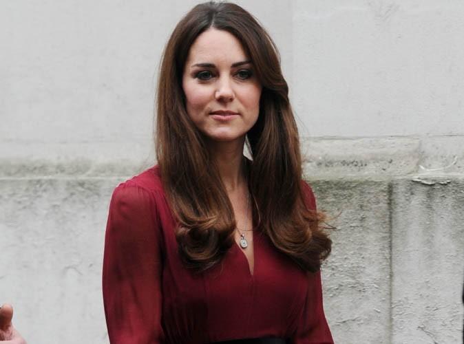 Kate Middleton : premières images de son petit ventre rond !