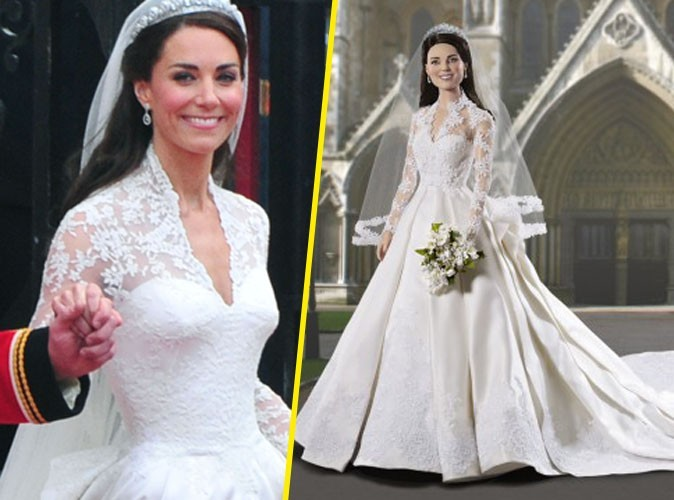 Kate Middleton : sa poupée vient de se marier !
