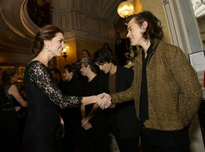 Kate Middleton : sous le charme de Harry Styles !