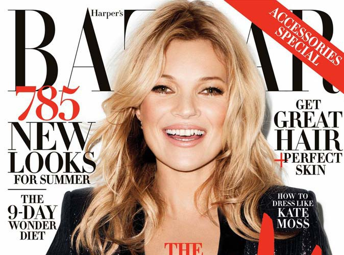 """Kate Moss : """"Je me sens vraiment plus à l'aise dans ma peau depuis que j'ai eu 40 ans !"""""""