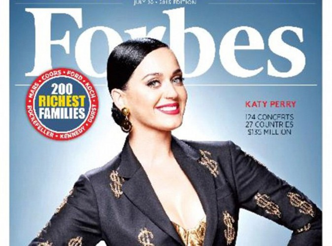Katy Perry : 135 petits millions de dollars vous avez dit ?