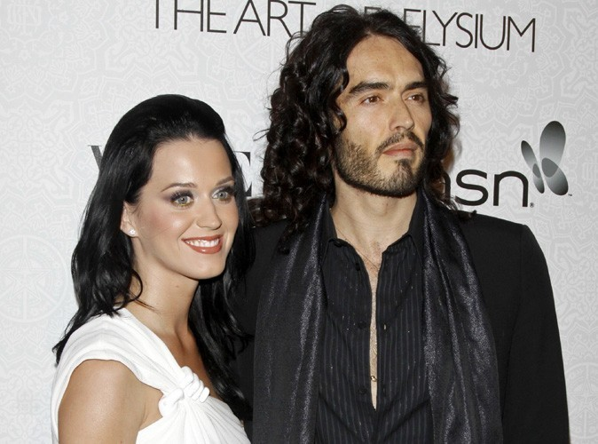 Katy Perry : elle félicite Russell Brand d'être sobre depuis 10 ans !