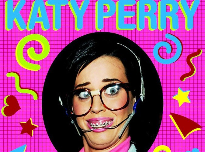 Katy Perry en mode geek sur la pochette de son nouveau single !