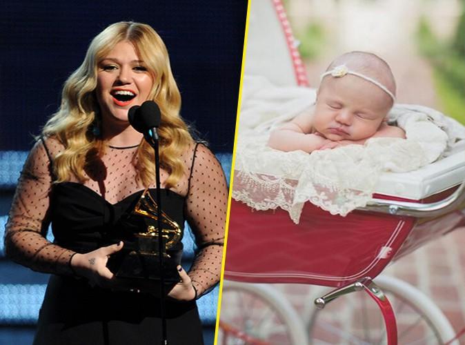 Kelly Clarkson : elle nous présente enfin son adorable petite River Rose !