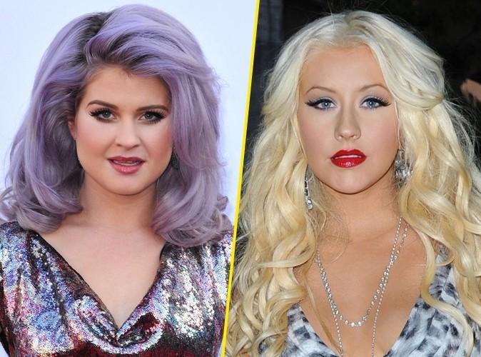 Kelly Osbourne : elle fait la paix avec Christina Aguilera !