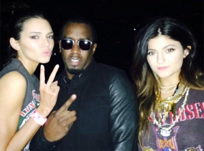 Kendall et Kylie Jenner : amies avec P. Diddy, le rappeur le plus riche de la planète !