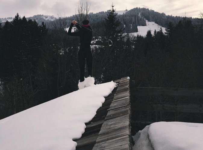 Kendall Jenner : exit la Fashion Week de Paris, elle préfère l'air frais de la montagne !