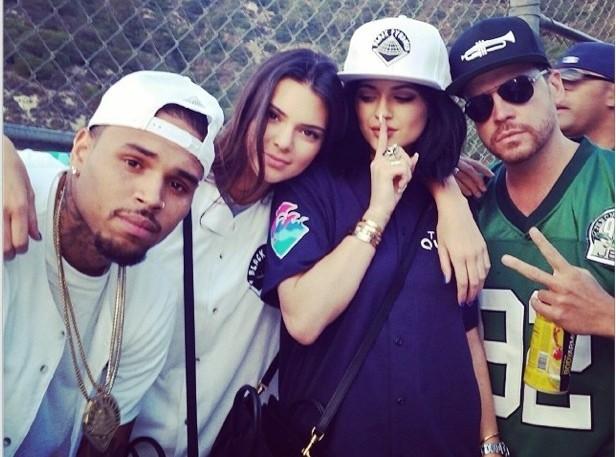 Kendall Jenner : obsédée par Chris Brown ?