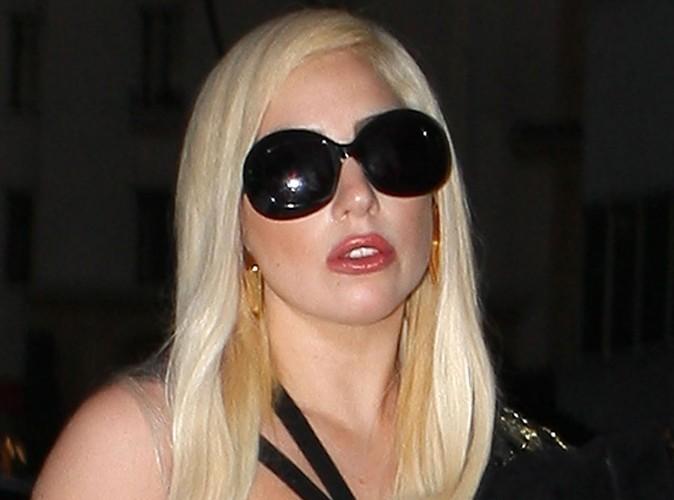Lady Gaga est très triste...