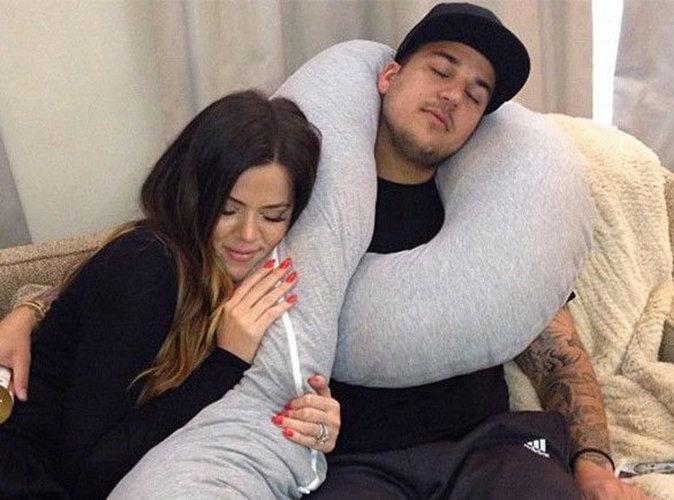 """Khloe Kardashian clashe son petit frère Rob : """"Il gâche sa vie, il est exaspérant"""" !"""