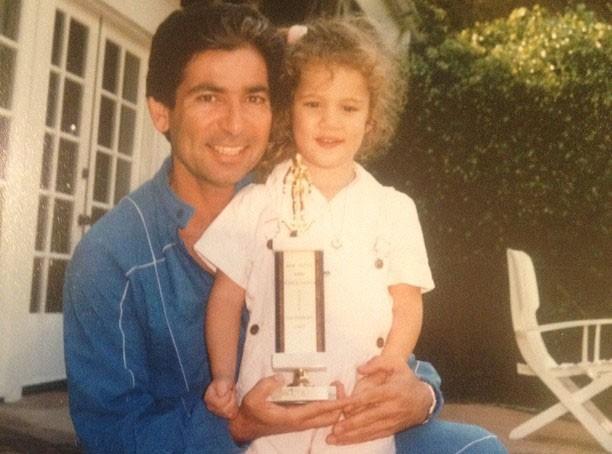Khloé Kardashian : encore une adorable photo avec son père !