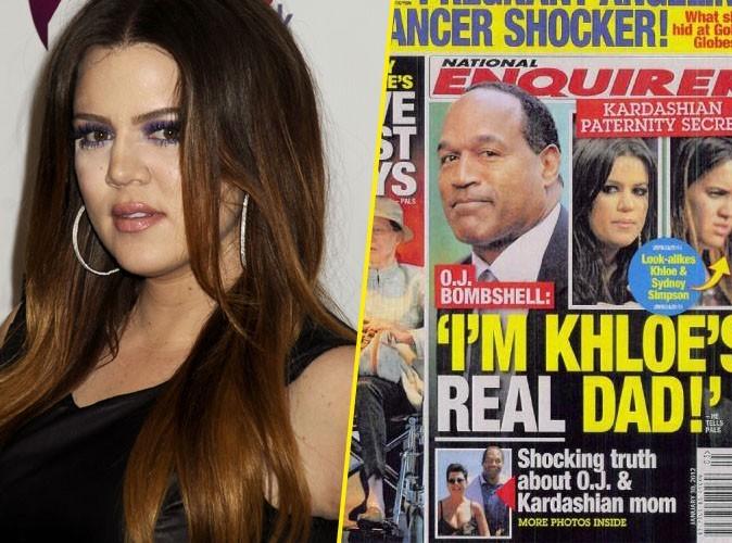 Khloe Kardashian : la fille biologique d'OJ Simpson ?!