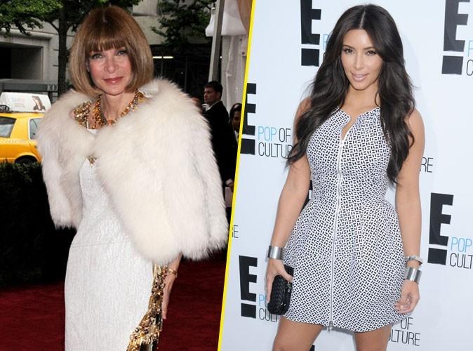 Kim Kardashian bannie du Met Ball Gala, à la demande de l'impitoyable Anna Wintour !