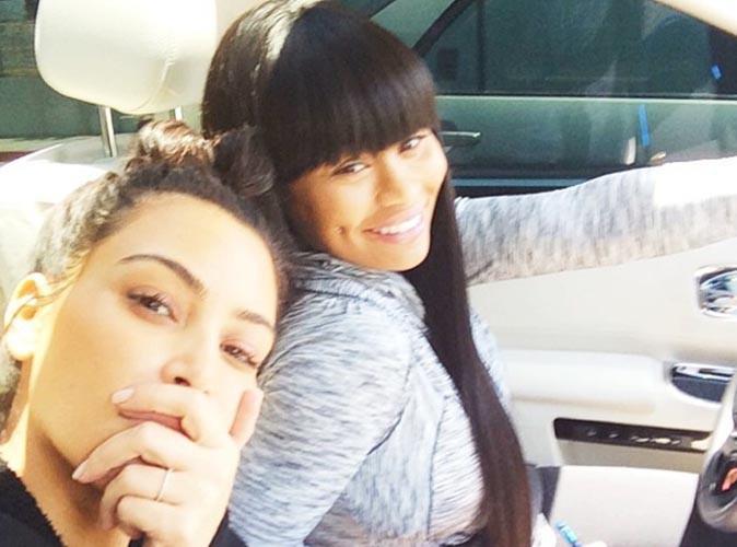Kim Kardashian : elle abandonne le make-up pour une virée avec sa copine Blac Chyna !
