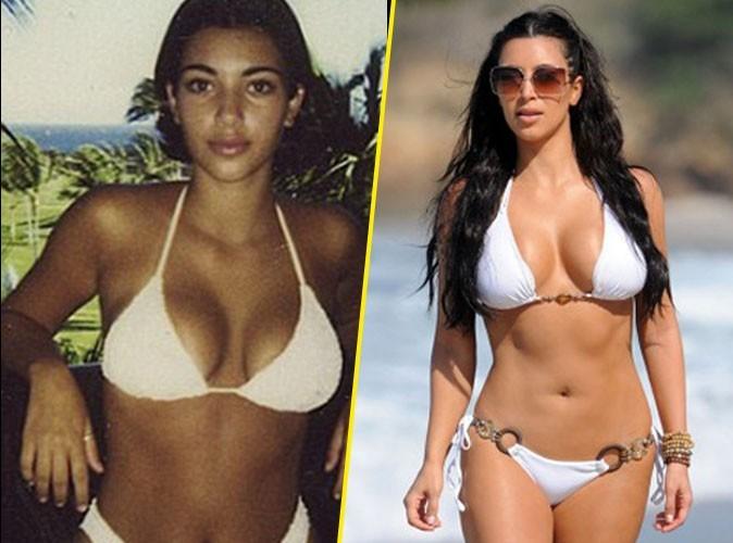 Kim Kardashian : elle avait une poitrine opulente dès l'adolescence... Aurait-elle finalement de vrais seins ?!