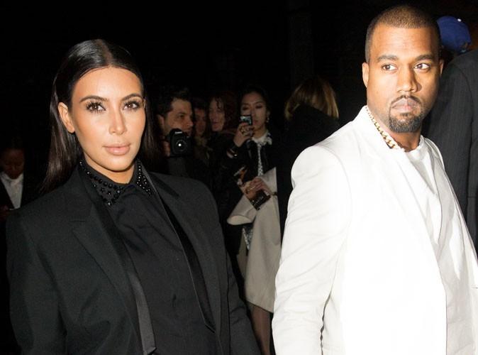 Kim Kardashian : elle est à Paris avec son chéri Kanye !