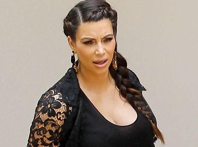 Kim Kardashian : elle ne supporte plus les paparazzi !