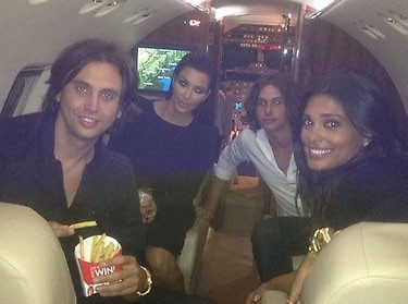 Kim Kardashian : elle sait voyager avec style !