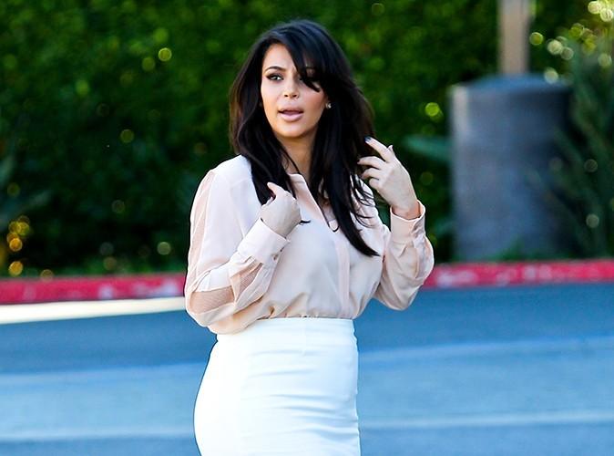 Kim Kardashian : elle se concentre sur un régime adapté à sa grossesse !