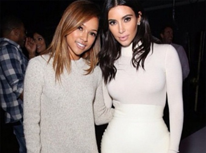 Kim Kardashian : elle snobe Karrueche Tran, Kanye West s'en m�le !