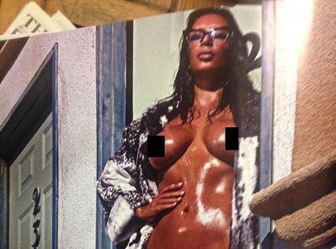Kim Kardashian : encore nue et de face pour Love Magazine !